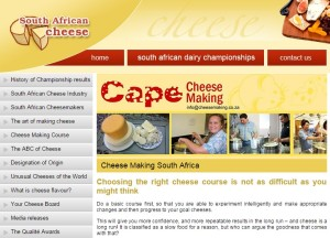 CheeseSA Cheese courses, South Africa